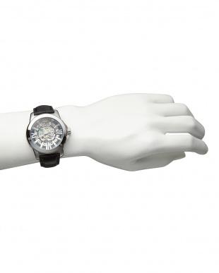シルバー  機械式腕時計 042|MEN見る