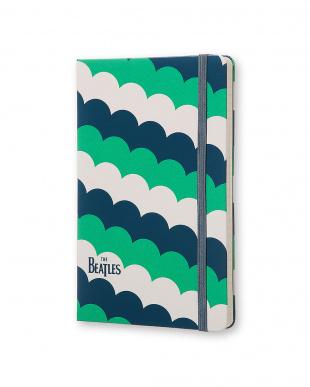 ホワイト GREEN FISH ビートルズ ノートブック/横罫・ラージサイズ見る