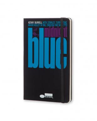 ブラック midnight blue ブルーノート ノートブック/無地・ラージサイズ見る