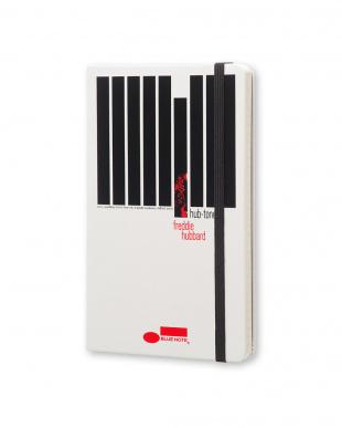 ホワイト Hub-Tones ブルーノート ノートブック/横罫・ラージサイズ見る