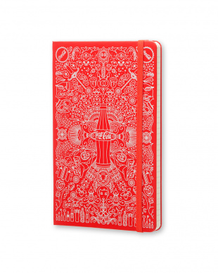 レッド コカ・コーラ ノートブック/横罫・ラージサイズ見る