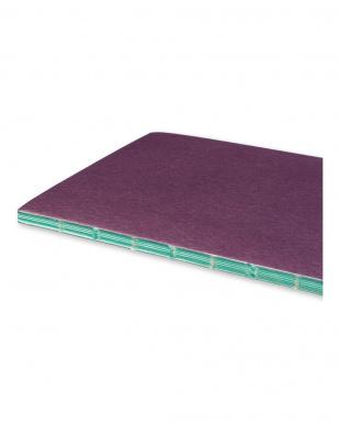 プラムパープル  チャプターズ ジャーナル ノートブック/横罫・スリムミディアムサイズ見る