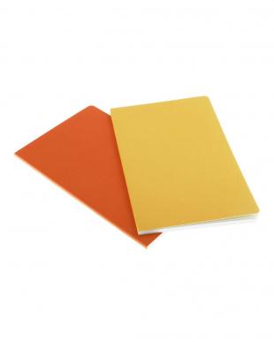 オレンジ系  ヴォラン ノートブック/無地・ラージサイズ見る