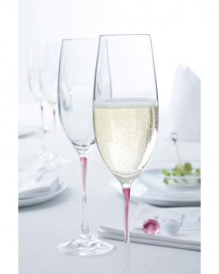 クリアー La Perla シャンパン2Pセット バイオレット見る