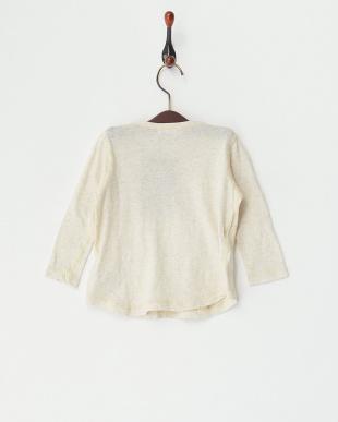 オフホワイト ラフィーTOP ベビーL/S Tシャツ見る