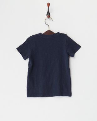 ネイビー  ムラ天竺 ciel d'eteプリントTシャツ見る
