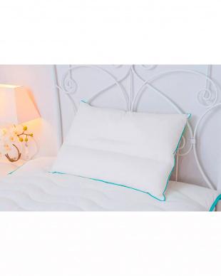 ホワイト NONBACTEL 枕/掛け布団 シングル2点セット見る