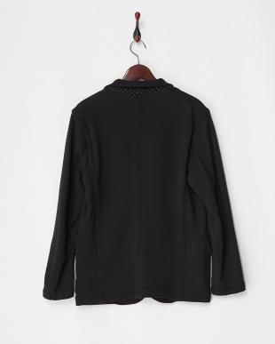 ブラック 裏毛スウェットジャケット|MEN見る