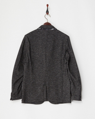 ブラック  メランジカットジャケット|MEN見る