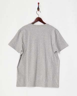 ライトグレー  アイコン ショートスリーブバッジTシャツ見る