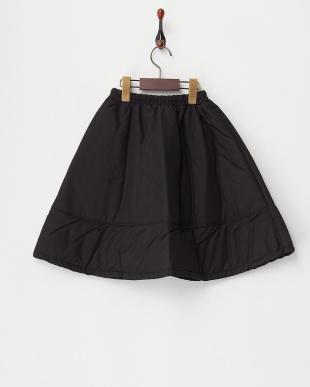 クロ 中綿ロングスカート見る