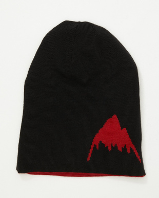 Process Red/True Black Billboard Slouch Beanie見る