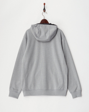 Monument Heather Hemlock Bonded Full-Zip Hoodie見る