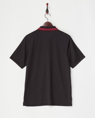 ブラック  ワンポイントポロシャツ MEN見る