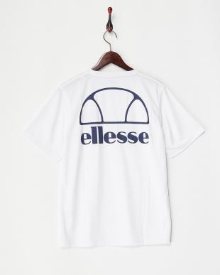 ホワイト  バックロゴ Tシャツ MEN見る