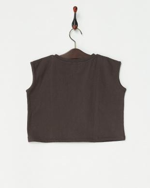 ブラック系  ショート丈 S/S Tシャツ見る