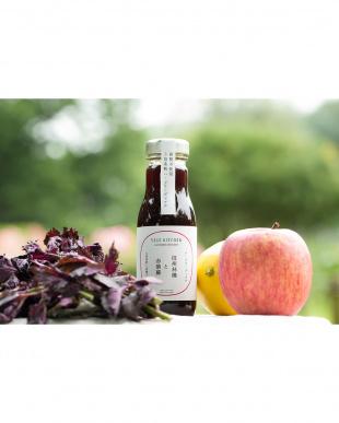 『5倍希釈 フルーツシロップ』ハーブコーディアル 信州林檎と赤紫蘇見る