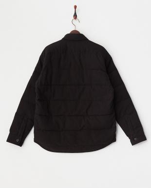 BLACK SHIRTSULATE 中綿シャツジャケット見る