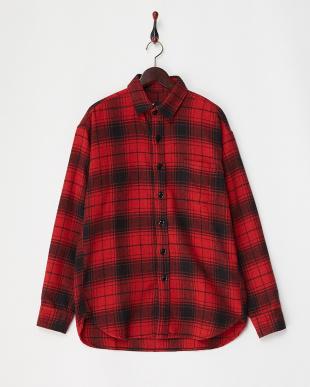 RED BLANKET ネルシャツ見る