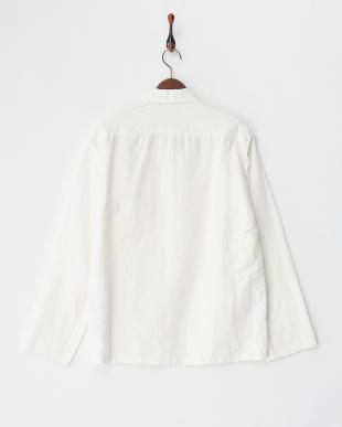 OWH 綿麻 チャイナ シャツジャケット見る