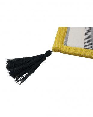 BLACK テラ インド綿ラグ 185×185cm見る