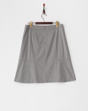 グレー  ロザージュジャージスカート見る
