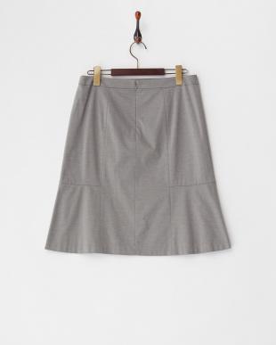 グレー系  ロザージュジャージスカート見る
