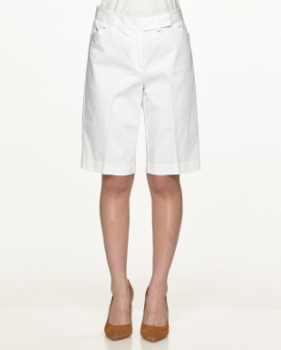 BRIGHT WHITE Flat Front SHORTS見る