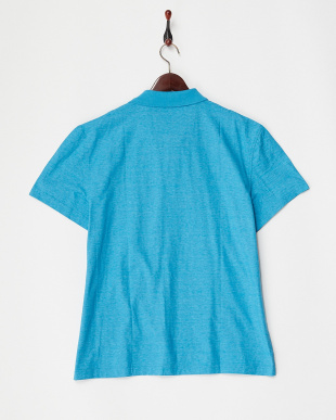 WATERFALL TURQUOISE スキッパーカラー Polo KNIT見る