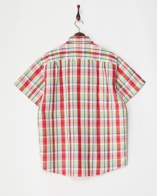 ISLAND GREEN Yarn Dyed Fabric Woven S/S Shirt見る