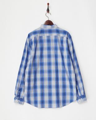 BLUE NOVA CSI Yarn Dyed Fabric Woven L/S Shirt見る