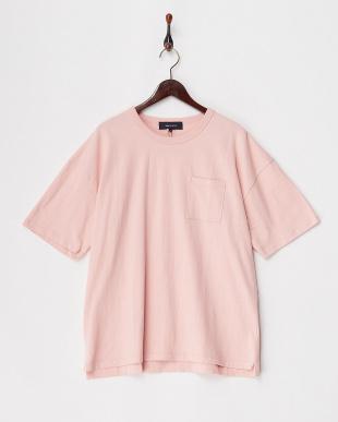 ピンク  USAコットンビッグTシャツ見る