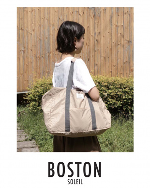 BEIGE  BOSTON BAG見る