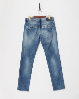 WN64 NEW ALBERT CHINO BLUE/GREEN STR 9 1/2 OZ パンツ見る