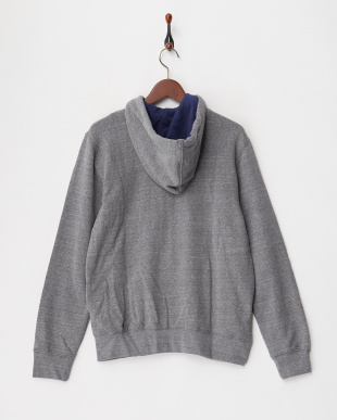 MEDIUM MELANGE  RALF/S COTTON SLUB FLEECE パーカ見る