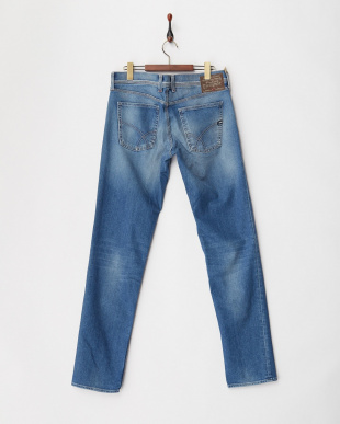 W772  ANDRES K BLUE DENIM COMFORT 12 OZ パンツ見る