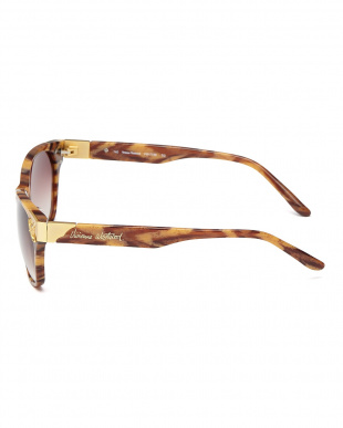 タイガー(ブラウン系)  フロントサイドオーブサングラス見る