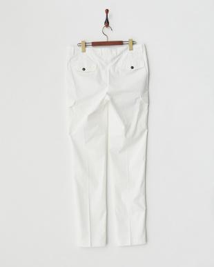 white  パンツ ITALY CARGO STRETCH PANTS見る