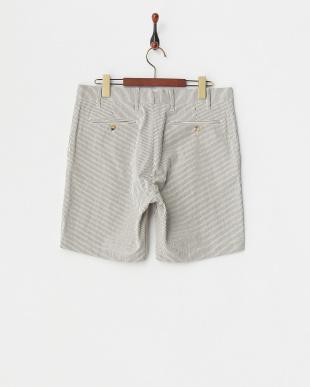 off white パンツ DE BONNE FACTURE:CTN STRIPE SH見る