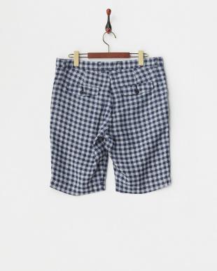 blue パンツ 120%LINO:LNN CHK SHORTS見る