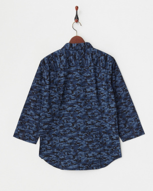 navy  シャツ JB(Re):MINI WOODLAND WIRE 7/S見る