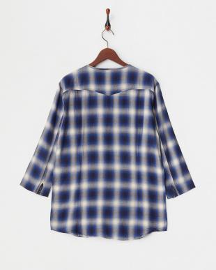 blue  シャツ JB(Re):OMBRE NO/C 7/S見る
