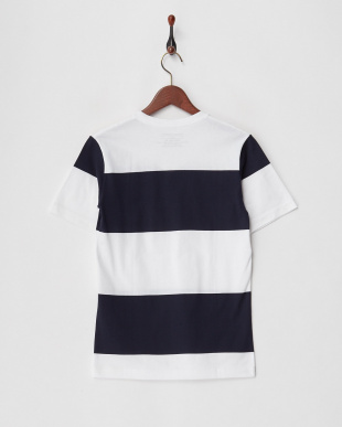 navy  カットソー SGS: CALIF BDR V NECK TEE見る