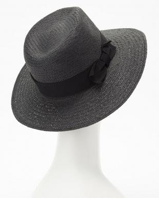 black 帽子 JB:PAPER STRAW HAT SPAIN見る