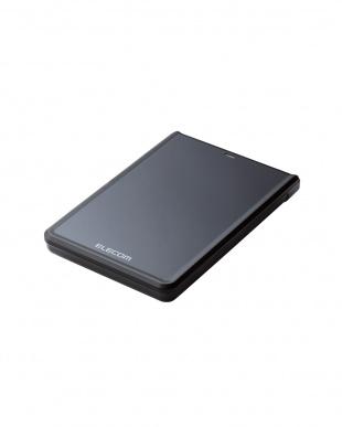 ブラック テレビ背面固定、録画用ポータブルハードディスク/500GB見る