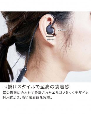 ブラック Bluetooth(R)ワイヤレスイヤホン見る
