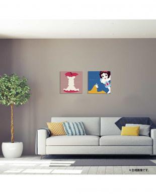 白雪姫のアートパネル(ファブリックパネル)2点セット見る