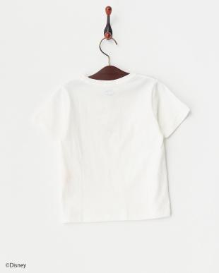 オフホワイト  ミッキーポケットTシャツ見る
