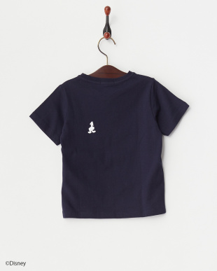 ネイビー  ドナルドポケットTシャツ見る