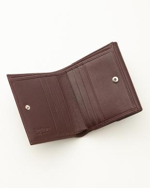 バーガンディ  二つ折り財布<Jackie Purse>見る